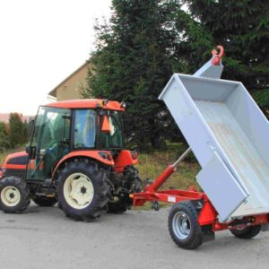 Traktorové kontejnerové návěsy