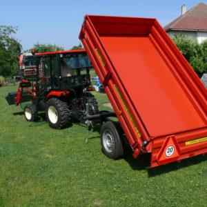 Traktorové přívěsy