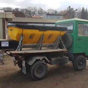 01 Sypací nástavby SnowEX pro nákladní vozidla 3,5 - 16 t