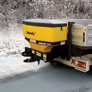 03 Sypací nástavby SnowEx závěsné pro traktory a NA N1
